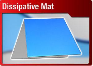Dissipative Mat Button