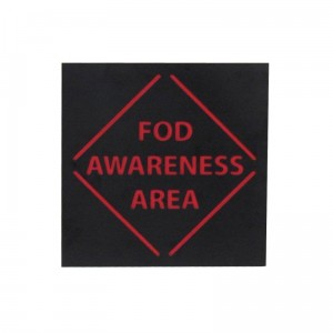 fod 3d awareness sign