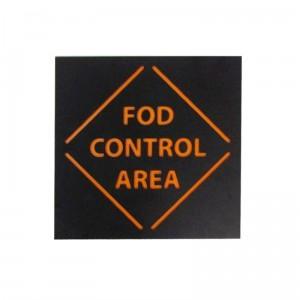 fod 3d control sign