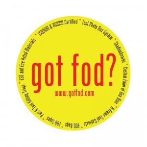 Got FOD sticker Logo