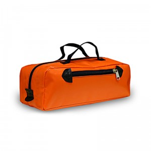 Orange Vinyl Tool Bag