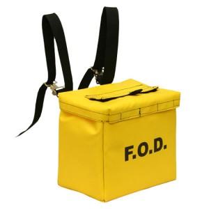 heavy yellow scaffold bag