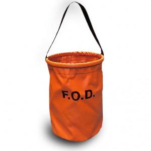 orange vinyl fod bag