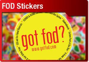 FOD Stickers