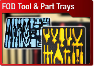 FOD Tool and Part Trays