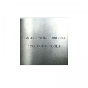 Tool Control Etching Sign