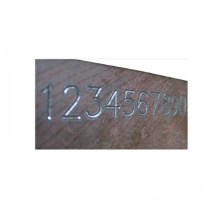 Tool Control Etching Numbers