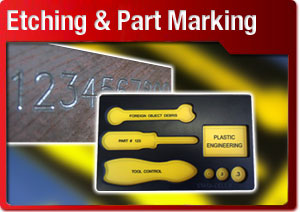Etching and Part Marking Button